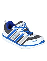 Randier White Sports Shoes For Mens
