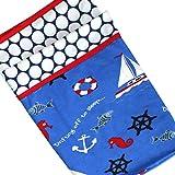 Double Layered Soft Baby Blanket/ AC Blanket / Throw - Sailor Print By Kadambaby Soft Infant Blanket, Newborn...