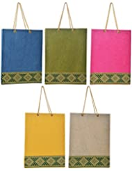 Richa Kriti Multi Color Shopping Bags Set Of 5 (RK039)