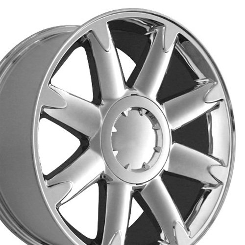20×8.5 Wheel Fits GMC Truck – Denali Style Chrome Rim