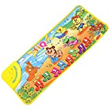 HGD® Music Sound Farm Animal Play Mat Carpet Playmat Gym Toy With Piano Mode For Kids Baby Children