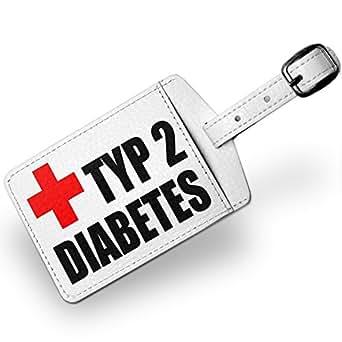 Amazon.com: Luggage Tag Medical Alert, type 2 diabetes