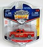 Jada Badge City Heat Fire Dept. '99 Chevy Silverado Dooley Red #020