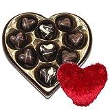 Be Mine Chocolates Box With Heart Pillow - Chocholik Belgium Chocolates