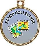Keepsake Awards Stamp Collecting Gold Award Disk