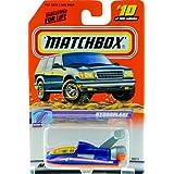 1999 - Mattel - Matchbox - #10 Of 100 Vehicles - Hydroplane - Ocean Explorer Edition - Series 2 - Bl
