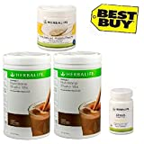Herbalife Monthly Weight Loss Package: 2 Nos Formula 1 Vanilla + Personalized Protein Powder PPP + Afresh Lemon...