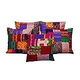 AADI ENTERPRISES Rajasthani And Gujrati Traditional Handmade Thread And Patch Gudadi Work Assorted 5 Pc. Cotton...