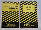 Lot of 2 Shakespeare CliffsNotes (King Lear, Antony and Cleopatra)