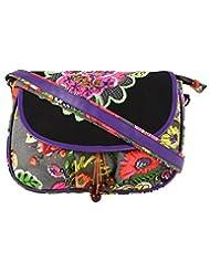 Anekaant Hybrid Women Canvas Sling Bag - B013JOD74E