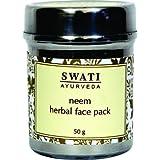 Swati Ayurveda Neem Herbal Face Pack (Paraben Free) 50 Gm