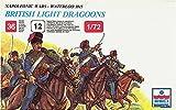 ESCI ERTL British Light Dragoons Toy Soldiers in 1:72 Scale - Napoleonic Wars - Waterloo 1815 Plastic Figure Kit #230