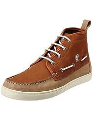 CR7 Cristiano Ronaldo Men's Salsa Docksider Leather Boots