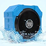 Speakers With Bluetooth For IPhone And Other Mobile Devices, Waterproof, Rugged, Shockproof, Dustproof, Indoor...