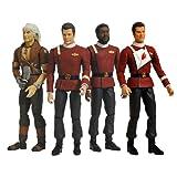 Star Trek II: The Wrath of Khan 25th Anniversary Admiral Kirk & Khan Action Figures Ca...