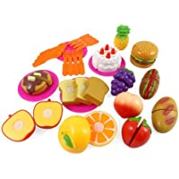 Kitchen Fun Cutting Fruits & Fast Food Playset For Kids Model: , Toys & Games For Kids & Child