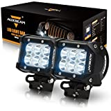 "Auxbeam® 2Pcs 4"" 18W CREE LED Work Light Bar Spot Beam 30 Degree Waterproof For Off-road Truck Car ATV SUV Jeep..."