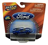 Gear'd Up Officially Licensed Ford 1:64 Die-cast Vehicle ~ 1966 Ford GT 40 MK II (Blue with Dual White Racing Stripes)