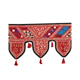 Rajrang Patchwork Cotton Door Hanging Decorative Toran Lace Work - B00O0QMBMU