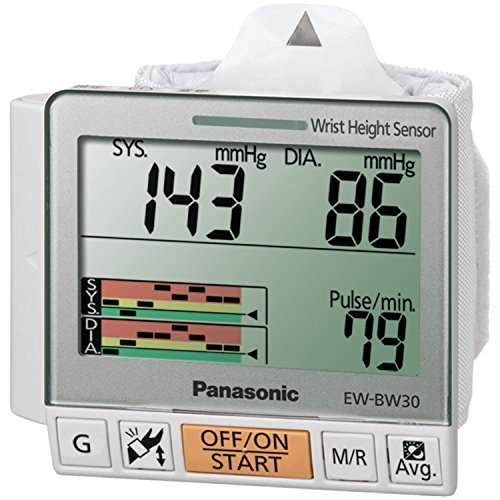 Panasonic EW-BW30S Wrist Blood Pressure Monitor with Trend G