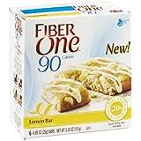 Fiber One 90 Calorie Lemon Bar , 5.34 OZ (Pack Of 12)