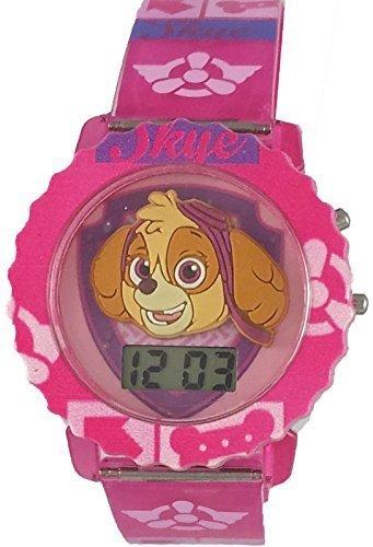 Paw Patrol Skye Girl's Light Up Digital Watch PAW4019