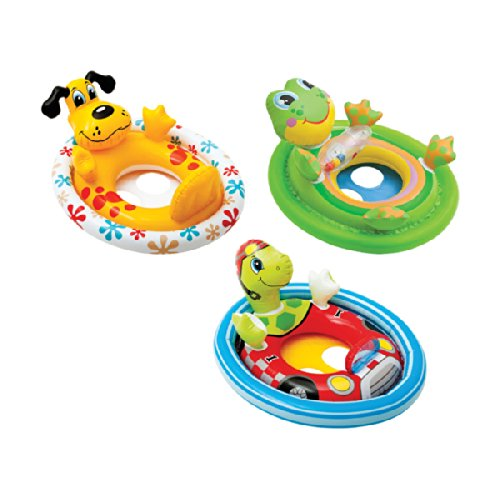 Intex 59570EP Inflatable See Me Sit Pool Ride for Age 3-4 (Colors/Styles Vary)