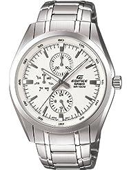 Casio Edifice Analog Off-White Dial Men's Watch EF-328D-7AVDF