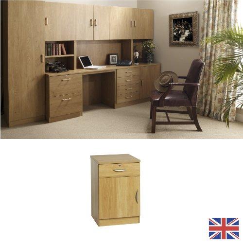 english oak wood handles adjustable shelf wood effect for use in study