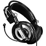 Headset,Baomabao Professional Gaming Headset LED Light Earphone Headphone With Microphone BK