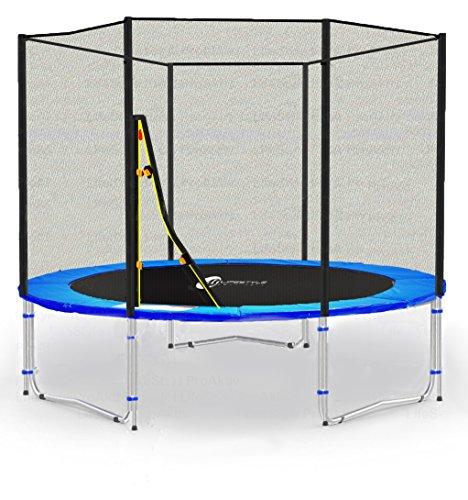 LS-T185-PA6 (B) LifeStyle ProAktiv Cama elástica para jardín 185 cm - Extra Fuerte red de seguridad, Probado por la seguridad...
