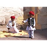 "Dolls Of India ""Folk Singer And Dancer From Jaisalmer - Rajasthan, India"" Photographic Print - Unframed (35.56..."