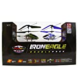 My Funky Planet My Web RC - Iron Eagle Helicopter - Double pack, Green/Purple