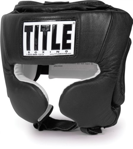 TITLE Masters Division USA Boxing Competition Headgear, BK, M