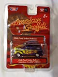 American Graffiti 1940 Ford Sedan Delivery Blue with Flames