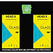 HEAD X TEMPERED GLASS FOR INFOCUS M810 (UNBREAKABLE PACKING) BUY ONE GET ONE FREE