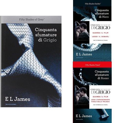 Trilogia Cinquanta Sfumature (copertina rigida)