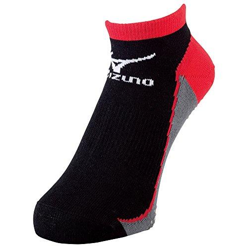 (ミズノ)MIZUNO 陸上競技 レーシングソックス(2足組) U2MX5004 09 ブラック×ブラック 25-27