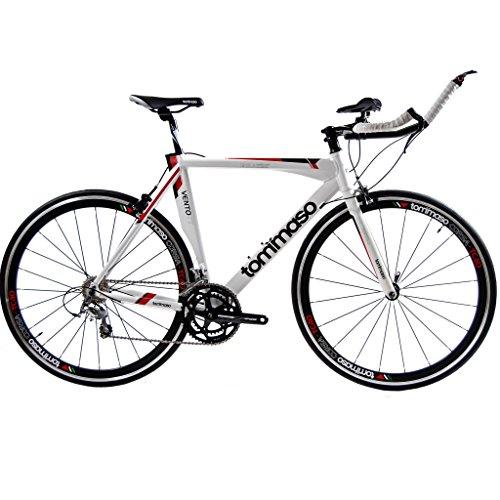 Tommaso Vento TT, Italian Racing Bike, Time Trial, White – XS