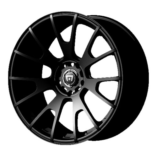 Motegi Racing MR118 Matte Black Wheel (17×8″/5x112mm, +32mm offset)