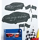 Wallies Room Décor Sticker Fast Car Mural