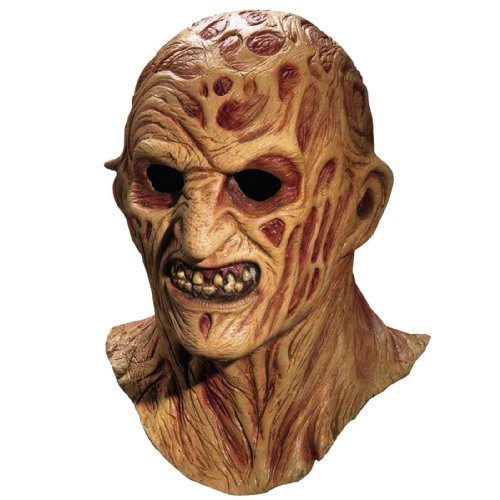 A Nightmare On Elm Street Freddy Krueger Costume Deluxe Overhead Mask