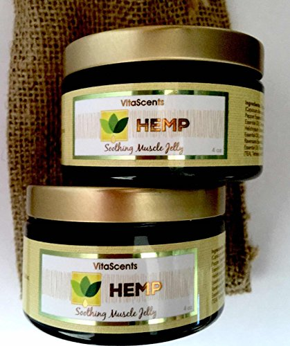 Hemp Oil Soothing Muscle Jelly for Muscular Pain