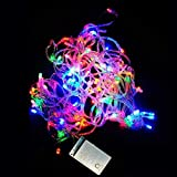 VDOMUS® 8 Modes 10M 100 LED String Fairy Light For Wedding Christmas Party Holiday(Multi-Color With Tail Plug...