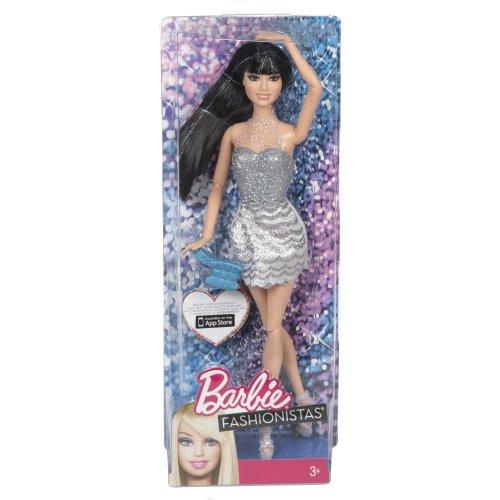 y mattel  barbiefashionista doll, hair