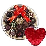 Grand Collection Of Chocolates With Heart Pillow - Chocholik Belgium Chocolates
