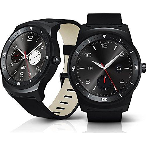 LG G Watch R Androidwear Black Dial Smartwatch LG LG-W110
