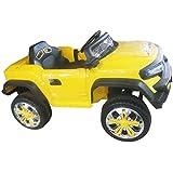 Yellow Car Kids Remote Control Car By KRIS TOY
