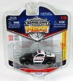 Jada Badge City Heat Police '03 Nissan 350Z Black/White #021