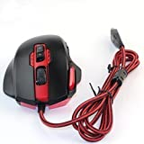 Redragon Gaming Mouse M901 PERDITION 16400 DPI High-Precision Programmable Laser Gaming Mouse For Computer - Black